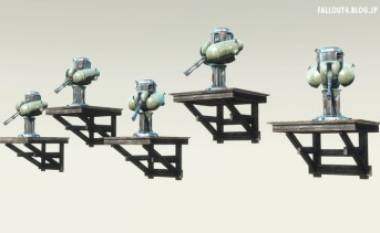 Craftable Turret Stands