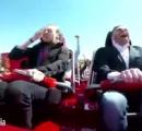 【動画】ジェットコースター乗客の顔面に鳩が直撃!