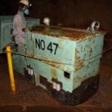 『尾去沢鉱山の保存車(機関車編)』の画像