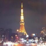 『(番外編)雨上がりの夜景に映える東京タワー』の画像