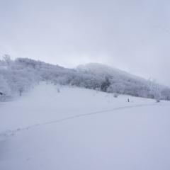 明神平登山