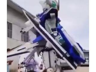 【中国】ガンダムエクシアのコスプレが凄すぎた