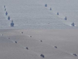 ロシア国防省「中国海軍との初の合同パトロールを実施」と発表…目的は、アジア太平洋地域の平和と安定の維持!
