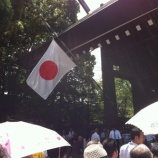 『8月15日 今年も靖国神社で感謝の気持ちを捧げ、平和への誓いを新たにしました』の画像