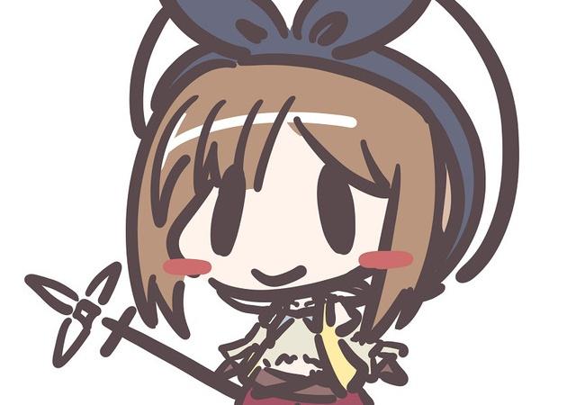 やったー!ライザちゃん描けたよー!\(^o^)/