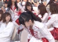 病気を押して総選挙参加の篠崎彩奈、無念の途中退場・・・