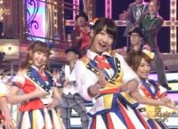 【AKB48】松井珠理奈・松井玲奈のアンダーに川栄李奈と武藤十夢!!【音楽の日】