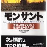 『モンサントのために日本農業と食料自給率を破壊する自民党』の画像