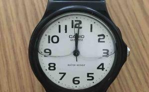 4年半で寿命を迎えた腕時計
