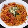 三種の旨味のトマトソースナポリタン&過去記事で「勝手にナポリタン特集8選」