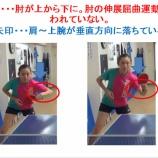 『WRM卓球知恵袋で神動画発見』の画像