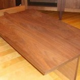 『ブラッウォールナットのセンターテーブル』の画像