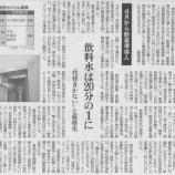 『(東京新聞)食品のセシウム規制強化 4月から新基準導入』の画像