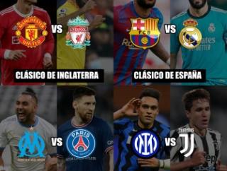 【朗報】本日の欧州サッカー、各国でクラシコが行われるwwwwwwww