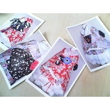 『着物ドレス』の画像