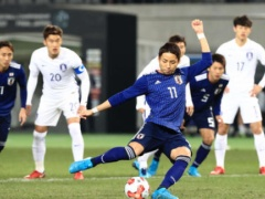 【 E-1 日韓戦!】試合終了!後半にも失点を許した日本・・・韓国相手に4失点!1-4で敗れる・・・