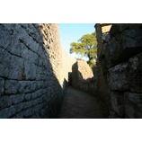 『悠久の石壁、そして夕暮れ。』の画像