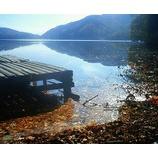 『湖面に映る』の画像
