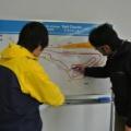4月1日:美祢自動車試験場にて~ドライビング講習会のようす