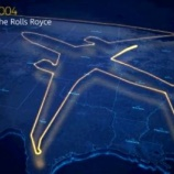 『米国の上空に巨大飛行機の軌跡』の画像