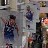『フィラデルフィア旅行記5 【NBA現地観戦】ラプターズVSシクサーズ@ウエルス・ファーゴ・センター(後半編)』の画像