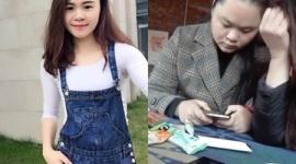 【中国】習近平ポスターに墨をぶっ掛けた女、精神病院で無事治療されたのち釈放…画像あり