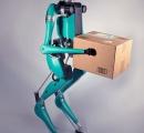 人型ロボットが自動運転車でやってきて玄関先まで荷物を運んでくれるという未来がもうすぐ実現