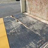 『トラックのコンパネ板の張り替え作業をしました!』の画像