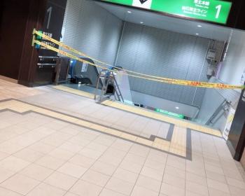 【火災速報】仙台駅で電車のパンタグラフが爆発か(現場動画・画像あり)