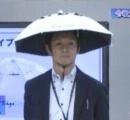 暑さ対策の「かぶる傘」に衝撃走る