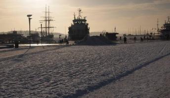 ノルウェーの港がすごくかっこいいから写真あげてく