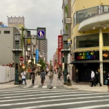 『【街の風景】緊急事態宣言解除後の浜松街中の風景、鍛冶町通りとモール街には人の往来が少しづつ戻ってきている』の画像