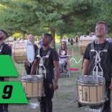 『【DCI】ドラム必見! 2019年ブルーコーツ・ドラムライン『インディアナ州インディアナポリス』本番前動画です!』の画像