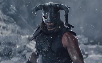 『Skyrim VR』ドヴァキンと世界を喰らう者の戦いを描いた新作映像が公開