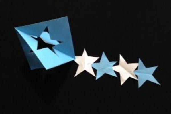 七夕 折り紙 星