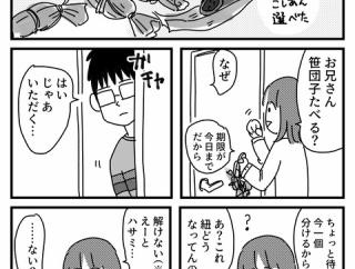 兄と笹団子食べた話