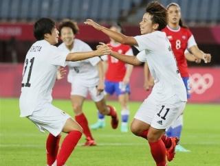 なでしこ、チリに1-0で勝利し3位通過で決勝T進出!途中出場田中が決勝弾!