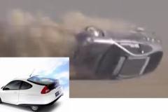 ホンダ、インサイトで最高速チャレンジ 323km/hを達成 直後に大クラッシュ!