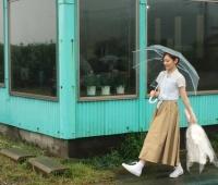 【欅坂46】 もな写真集オフショット、花束をもって