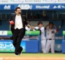 加藤茶(72)が始球式
