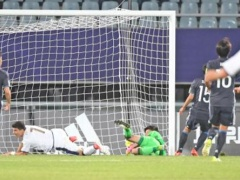 <U20W杯>【 日本代表×イタリア 】前半終了!開始早々7分で2失点の日本、堂安がゴールを決めて1-2で折り返す!