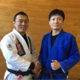 『【真剣勝負】岡本先生が柳沢友也さんとスパーリング勝負したってよ。』の画像