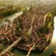 ワイ、世界の都市の地図を見て道路の線の美しさに感動する(画像あり)