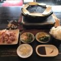 【食べ放題】親鳥もも肉おかわりし放題 波平食堂 サービス定食