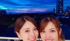【乃木坂46】ハワイで白石麻衣と松村沙友理がナイトプールに!!!