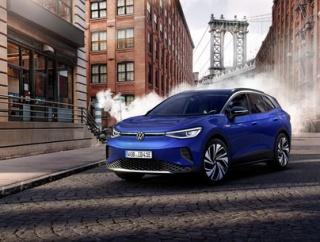 電気自動車もSUVが中心になるトレンドはかわらず? VW ID.4がアンヴェール
