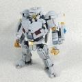 [パシフィック・リム]レゴでSDストライカー・エウレカ作ってみた。