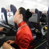 『四川航空搭乗記 チェイナドレスで中国人気No.1エアライン機内編』の画像