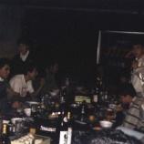 『1992年11月28日 JH7ZYM忘年会:弘前市・秋元酒店クラブ』の画像
