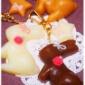 新作☆「チョコレートバニーのキーチャーム」*。゜・の巻。